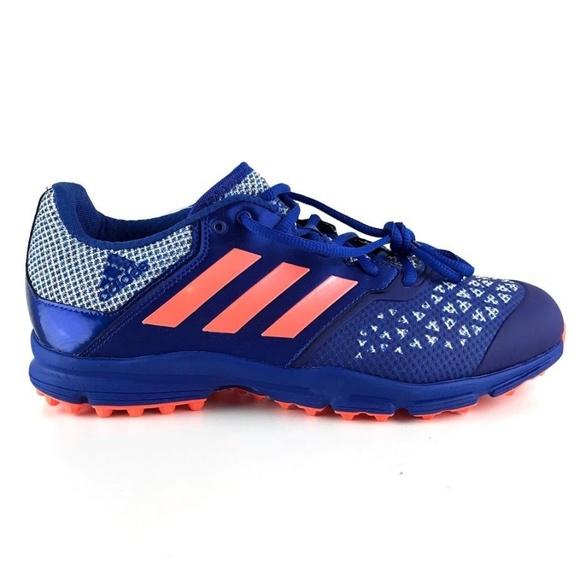 57ff45debbbd Adidas Zone Dox Hockey Trainers Cleats Shoes 10.5
